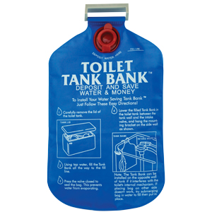 Toilet Tank Bank Water Saving Device