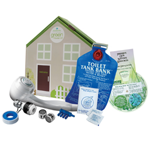 "Deluxe Water EcoKit™ in ""Green House"" Box"